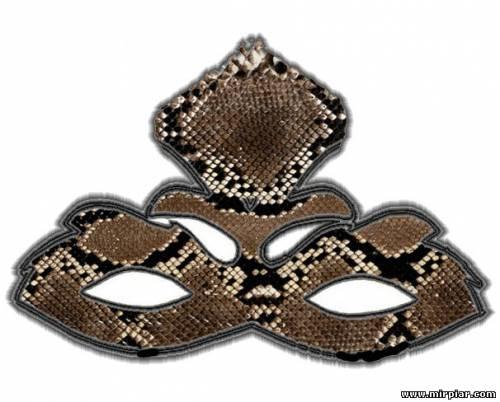 маска змеи своими руками
