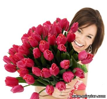 Цветы на 8 Марта