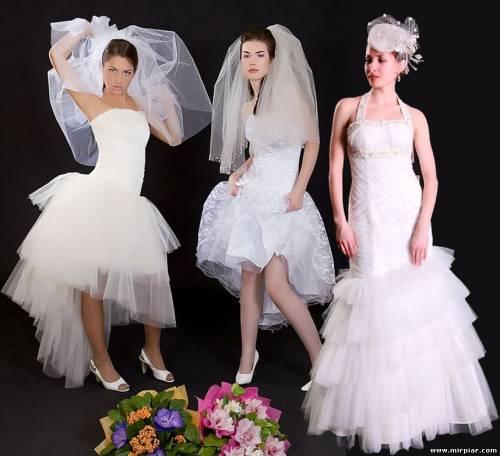 Купить свадебное платье в Москве недорого
