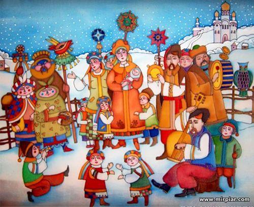 старый новый год, щедрый вечер,приметы, щедровки, посевалки, гадания на новый год,традиции и обряды