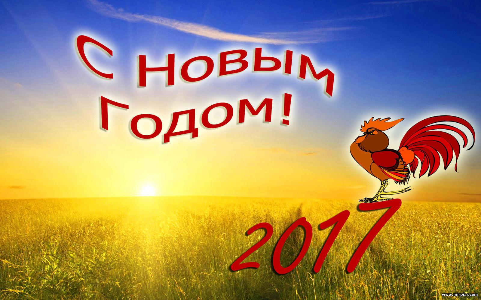 год Петуха, Новый год 2017, 2017