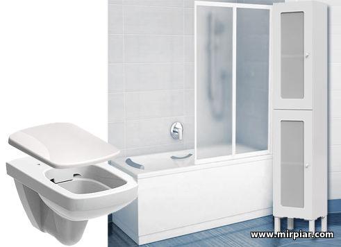 сантехника, ремонт ванной комнаты и туалета