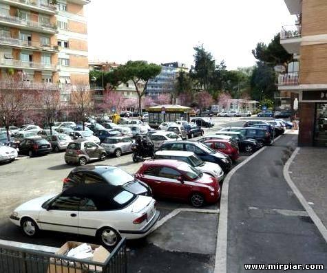 офисная парковка