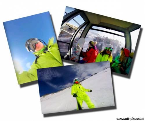 Отдых, катание на сноуборде