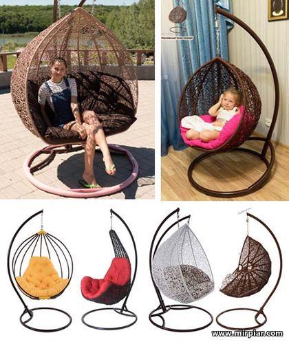 кресло-кокон, купить гамак в интернет-магазине, садовые качели