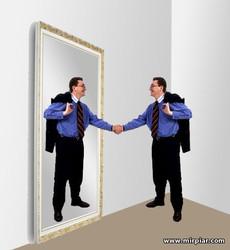 офис, зеркала в офисе, зеркало