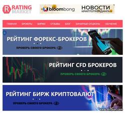 рейтинг брокеров, бирж, CFD брокеров, криптовалют