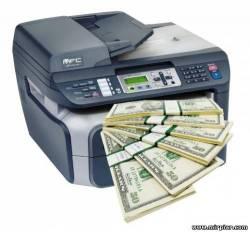 заработать на принтере