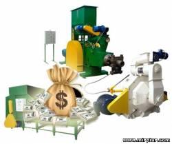 прессы и станки для изготовления брикетов, бизнес