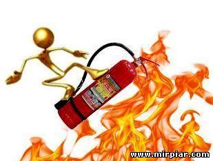 противопожарный инвентарь