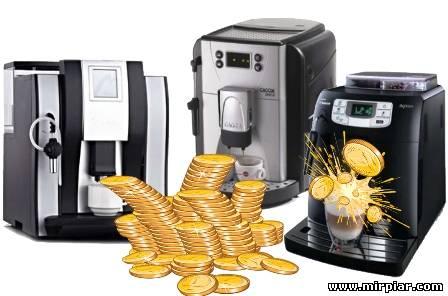 кофемашина, бизнес на кофе