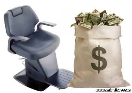 Купить парикмахерские кресла