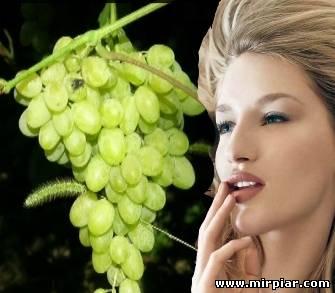 Омолаживающие свойства винограда