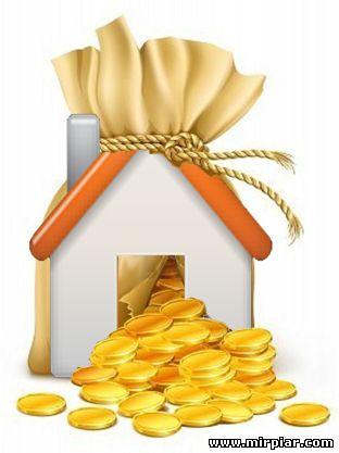 деньги, кредит под залог недвижимости